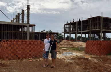 Josiah and Lynnette in Cambodia